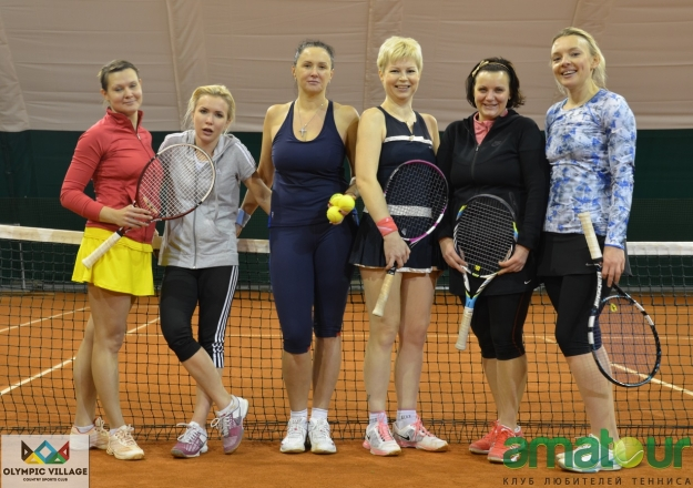 "Результаты турнира ""Amatour Christmas Women's Cup 22.12.2013""."