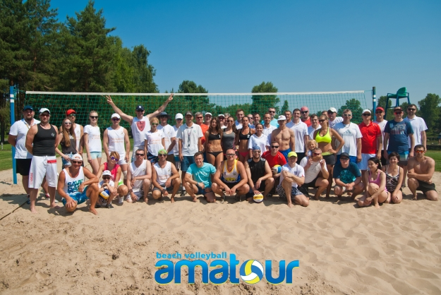 "Результаты турнира "" Amatour Beach Volley Tournament 14.06.2015 """