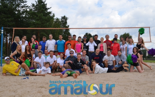 "Фото и результаты турнира ""Amatour Beach Volley Tournament "" 22.06.2014"