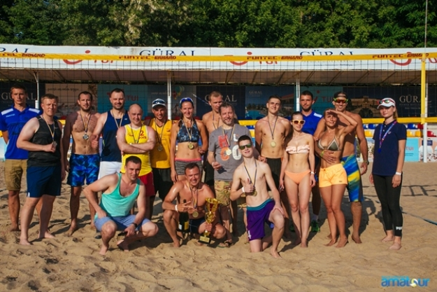 Результаты турниа  «Amatour Beach Volley Tournament 9.06.2019»
