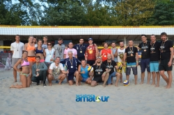 "Результаты турнира "" Amatour Beach Volley Tournament 3.09.2017 """
