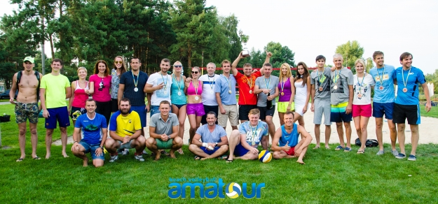 "Результаты турнира  ""Amatour Beach Volley Tournament 4.09.2016 """