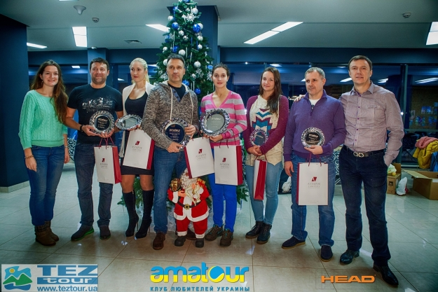 "Результаты турнира "" Amatour Christmas Mixed CUP 20.12.2014 """