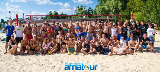 "Результаты турнира  ""Amatour Beach Volley Tournament 24.07.2016 """
